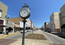 View of Downtown Anniston Noble Street