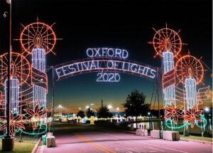 Oxford Festival of Lights Entrance