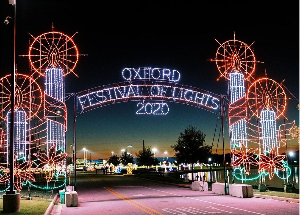 Oxford Festival of Lights Entrance
