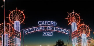 Festival of Lights in Oxford, Alabama