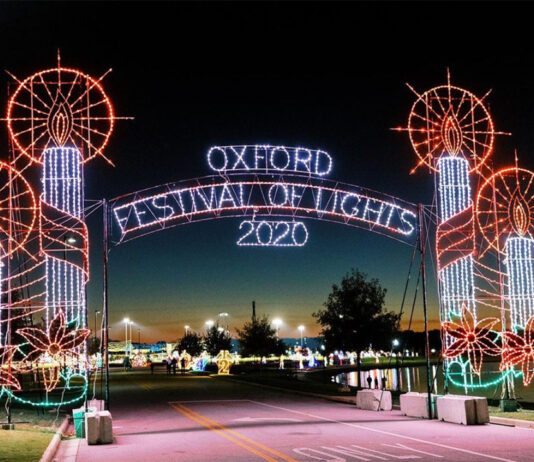 Festival of Lights in Oxford, Alabama