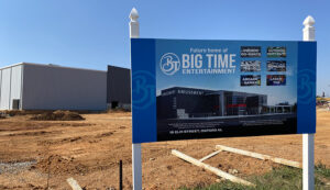 Big Time Entertainment construction site