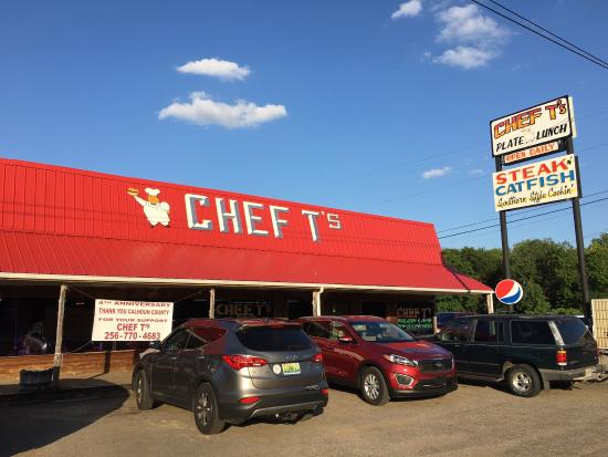 Chef T's restaurant building