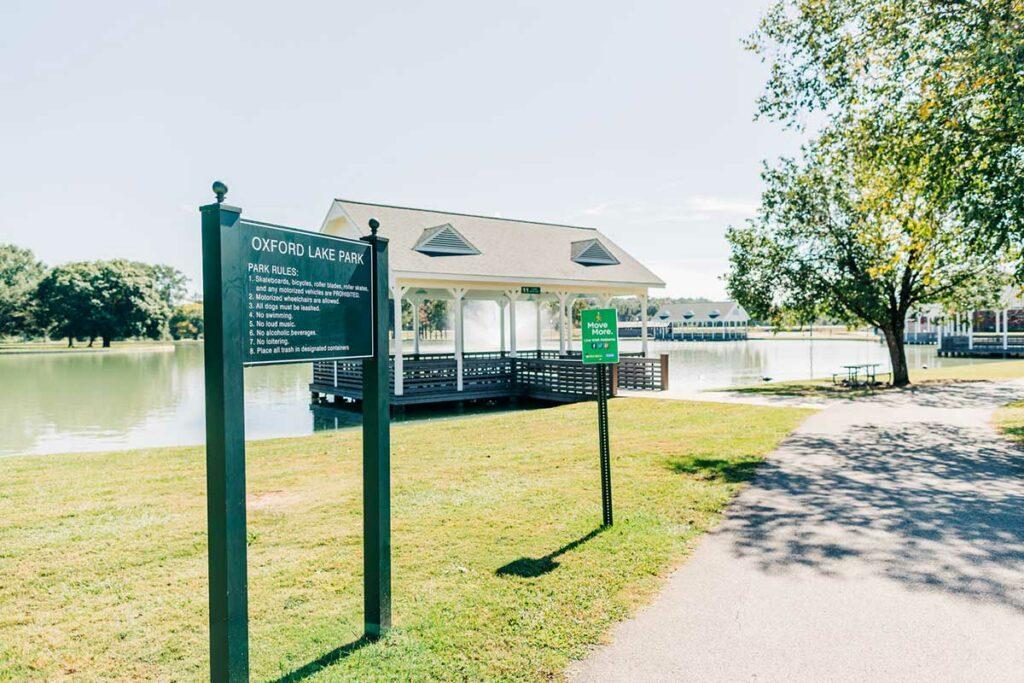 Oxford Lake Park Alabama Gazebos