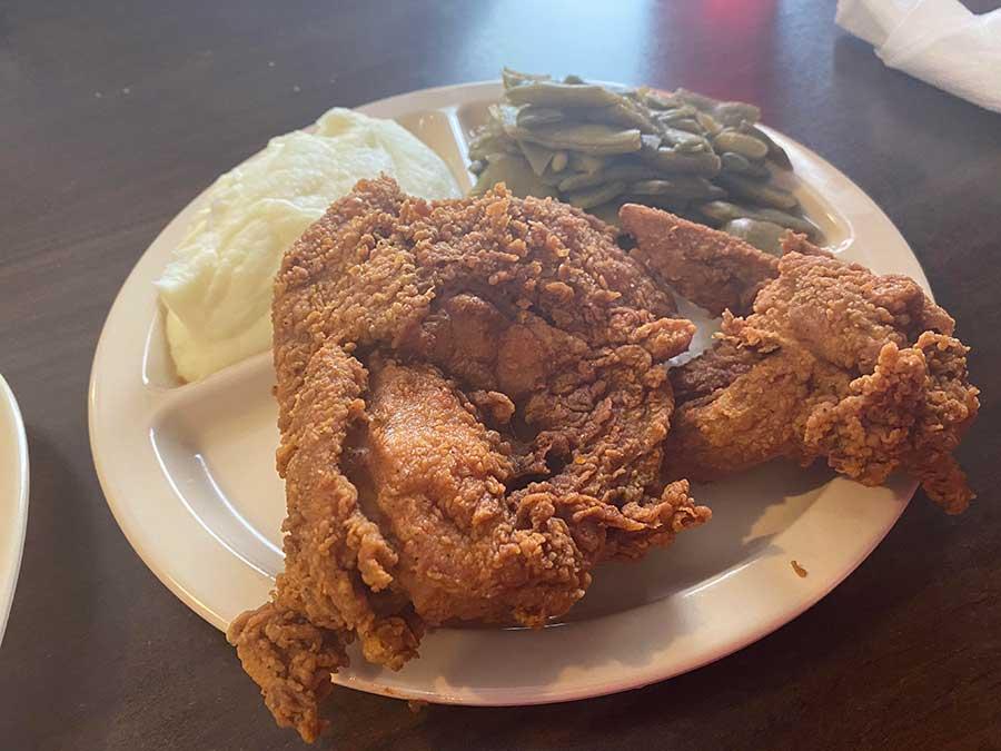 Betty's BBQ - fried chicken week 2