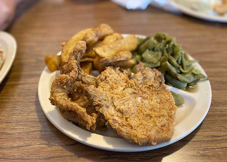 Betty's BBQ - pork chop week 4