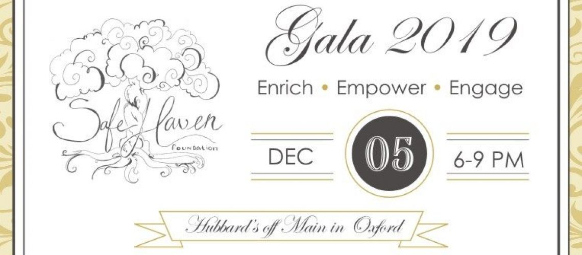 Safe Haven Foundation Gala